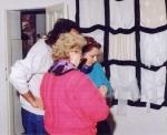 Vernisáž výstavy Elena BRESTENSKÁ: KRESBA / Anna LAŠŠÁKOVÁ: KERAMIKA / Beata TARJÁNYIOVÁ: BYTOVÝ TEXTIL, 27. november 1992