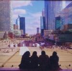 Čakanie na 11.september v La Défense